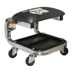Heavy Duty Shop Seat With Cup Holder