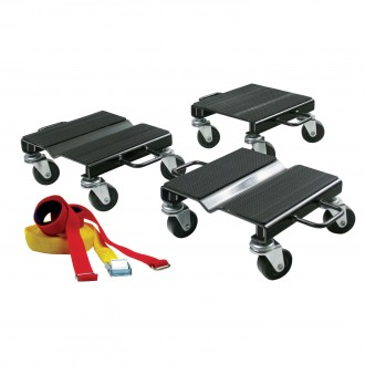Snow Mobile Dolly Set with Straps